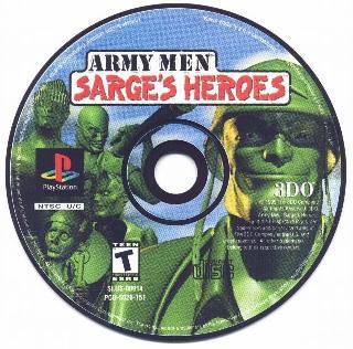 Screenshot Thumbnail / Media File 1 for Army Men - Sarge's Heroes [U]